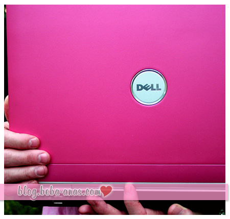 dell inspiron 1420 in hot pink!