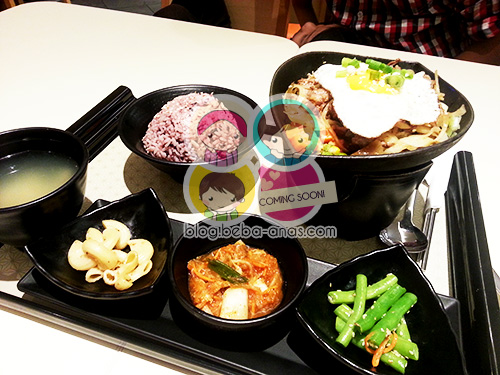 makan di dubu-dubu sunway pyramid - korean food